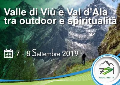 Evento 7-8 Settembre – Val di Viù e Val d'Ala tra outdoor e spiritualità