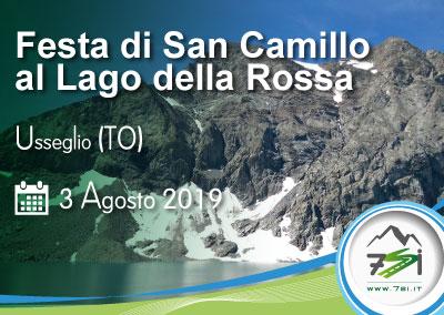 Evento 3 Agosto – San Camillo al Lago della Rossa