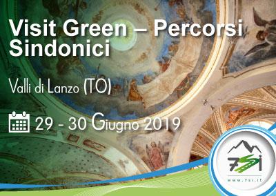 Evento 29 – 30 Giugno 2019 – Visit Green – Percorsi sindonici