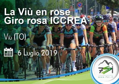 Evento 6 Luglio 2019 – La Viù en rose Giro Rosa Iccrea